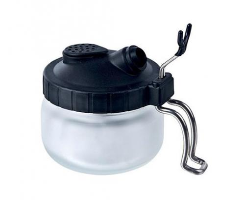 CLEANING POT - 2 IN 1 AIRBRUSH CLEANER & HOLDER