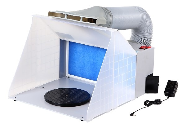 Spray Booth incl. air hose 100-240V