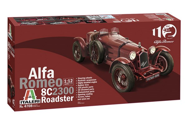 "Alfa Romeo 8C/2300 ""Roadster"" Alfa Romeo 110th Anniversary 1/12"