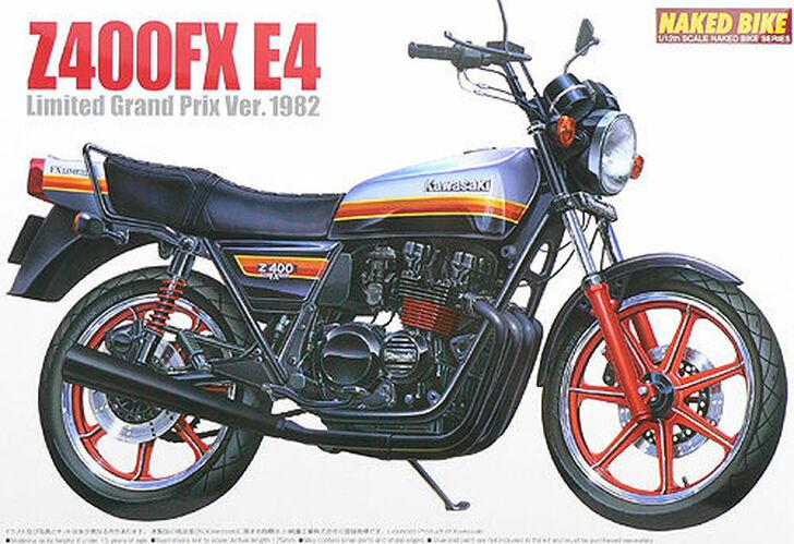 Kawasaki Z400FX E4 Limited Gran Prix Version 1982 1/12