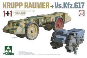 KRUPP RAUMER+Vs.Kfz.617 (1+1) 1/72