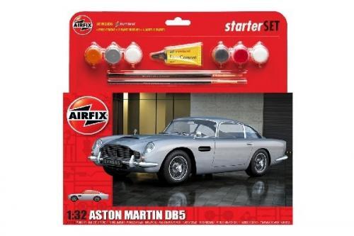 Medium Starter Set - Aston Martin DB5 Silver 1/32