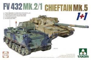 FV 432 MK.2/1+CHIEFTAIN MK.5 (1+1) 1/72