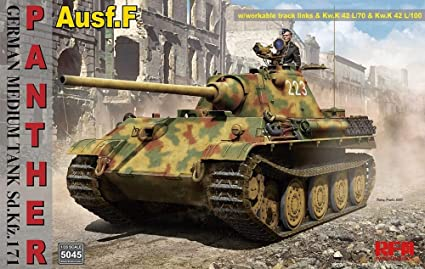 Panther Ausf. F w workabel Track Links 1/35