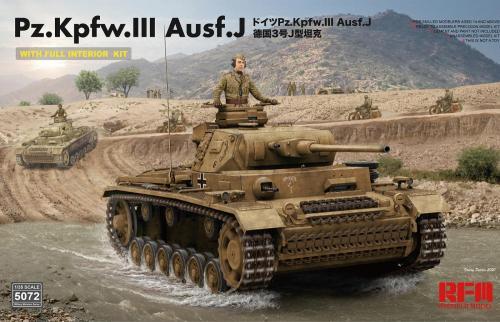 Pz.Kpfw. III Ausf. J w Full Interior 1/35