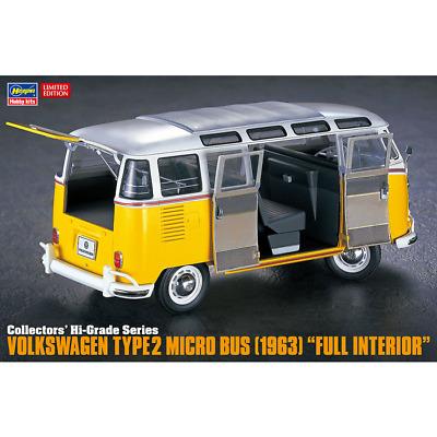 "Volkswagen Type 2 Micro Bus (1963) ""Full Interior""Volkswagen Type 2 Micro Bus (1963) ""Full Interior"" 1/24"