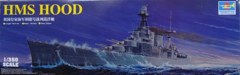 HMS Hood 1/350