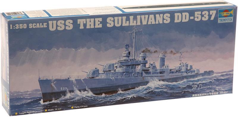 USS The Sullivans Dd-537 1/350
