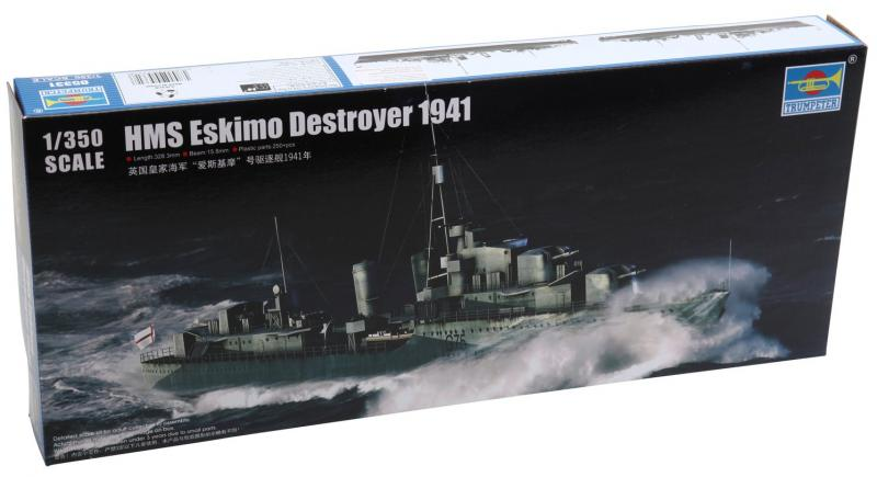 HMS Eskimo Destroyer 1941 1/350