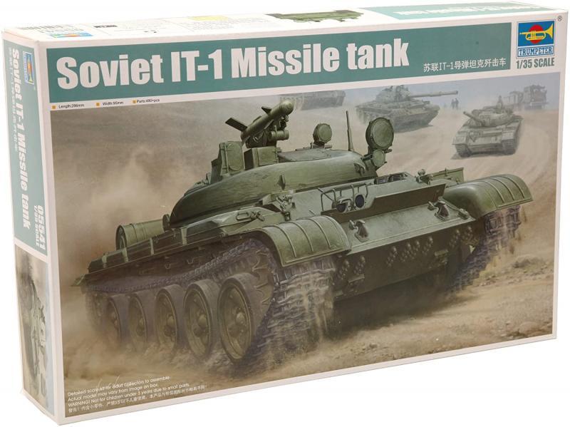 Soviet It-1 Missile Tank 1/35
