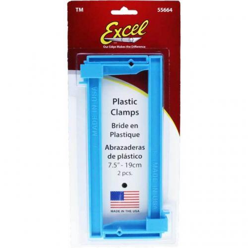 Plastic Clamps 19 cm 2-pack