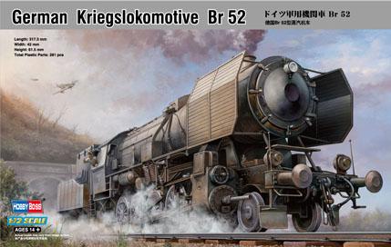 Kriegslokomotive BR-52 1/72