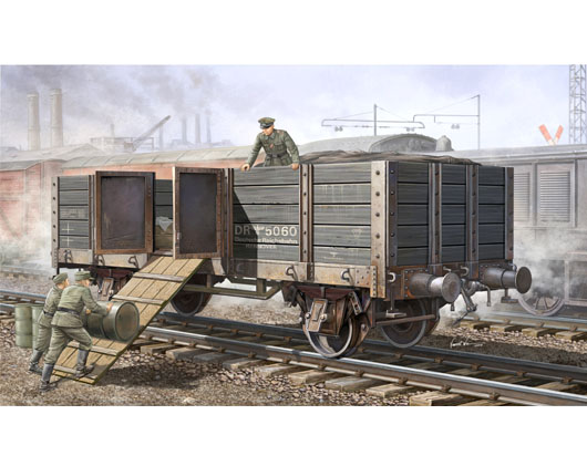 German Railway Gondola 1/35