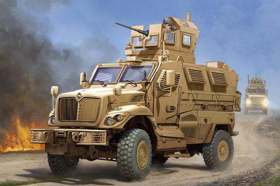 US MaxxPro MRAP 1/16
