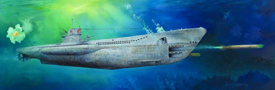 DKM U-Boat Type VIIC U-552 1/48