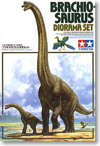 Brachiosaurus Diorama set 1/35