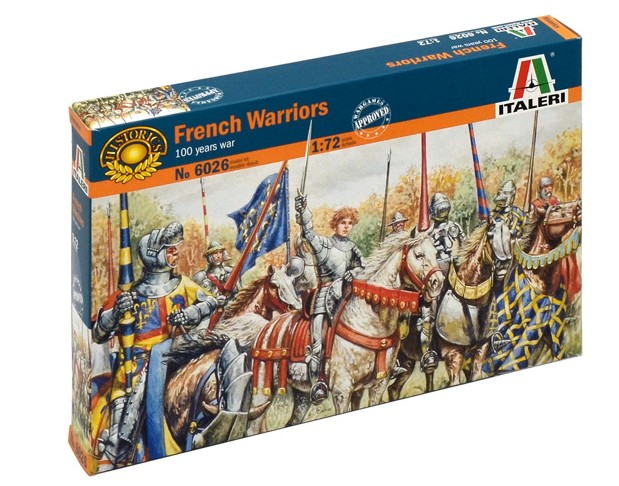French Warriors 1/72