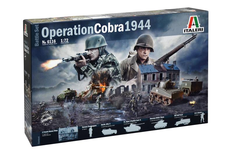 OPERATION COBRA 1944 (BATTLE SET) 1/72