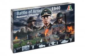 WWII 1940 BATTLE OF ARRAS - ROMMEL'S OFFENSIVE 1/72