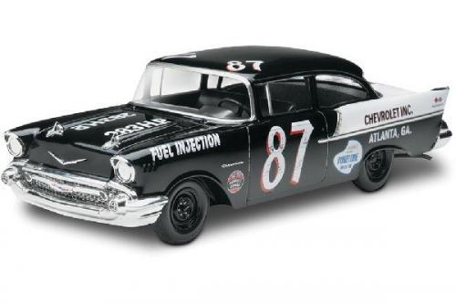 1957 CHEVY BLACK WIDOW 2N1 1/24