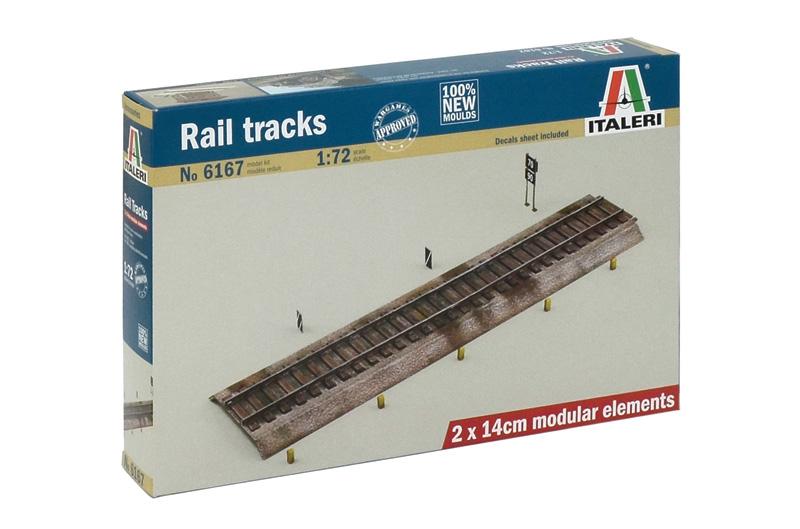 Rail tracks 1/72