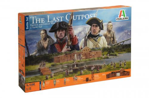 THE LAST OUTPOST 1754-1763 FRENCH AND INDIAN WAR - BATTLE SET 1/72