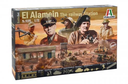 EL ALAMEIN WAR - BATTLE SET 1/72