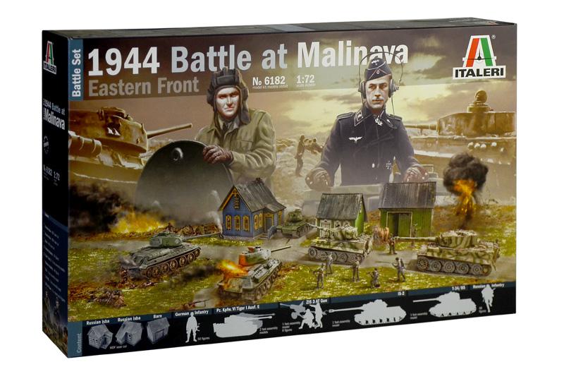 1944 BATTLE AT MALINAVA - BATTLE SET 1/72