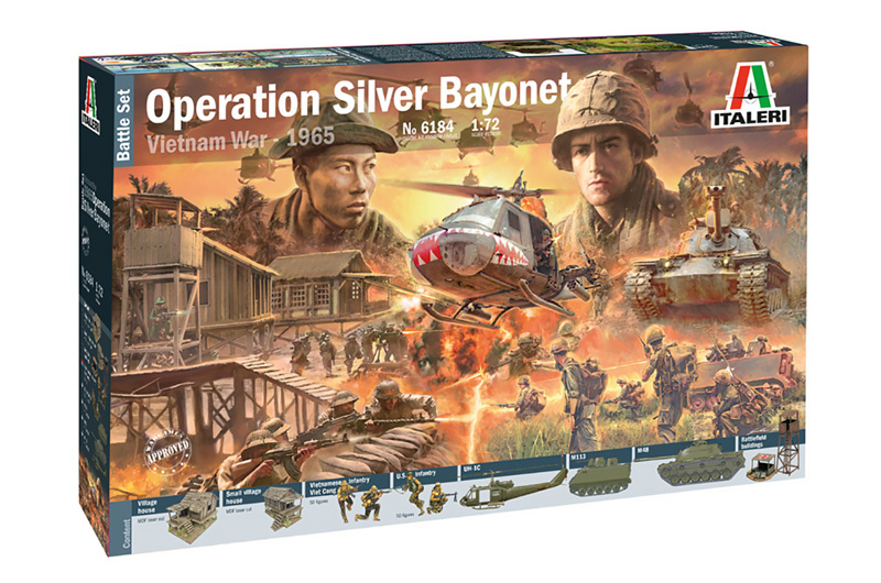 Operation Silver Bayonet - Vietnam War 1965 - BATTLE SET 1/72