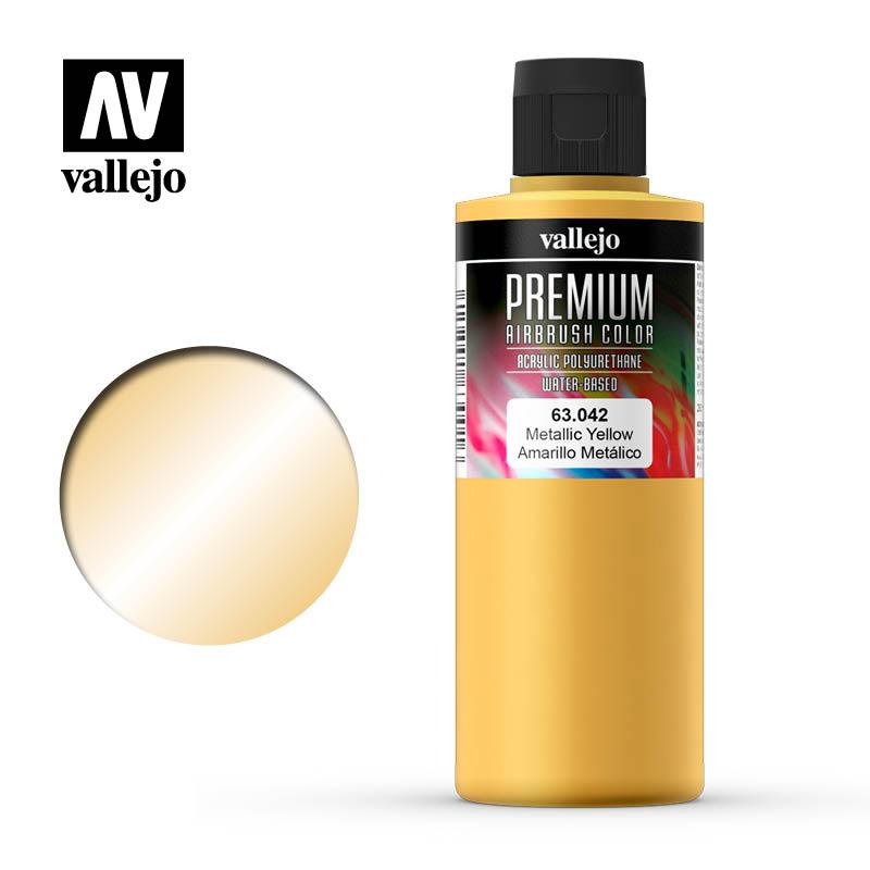 Metallic Yellow, Premium 200 ml