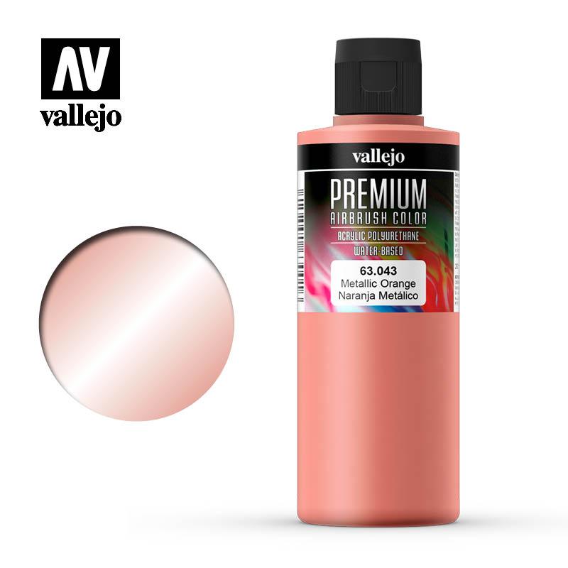 Metallic Orange, Premium 200 ml