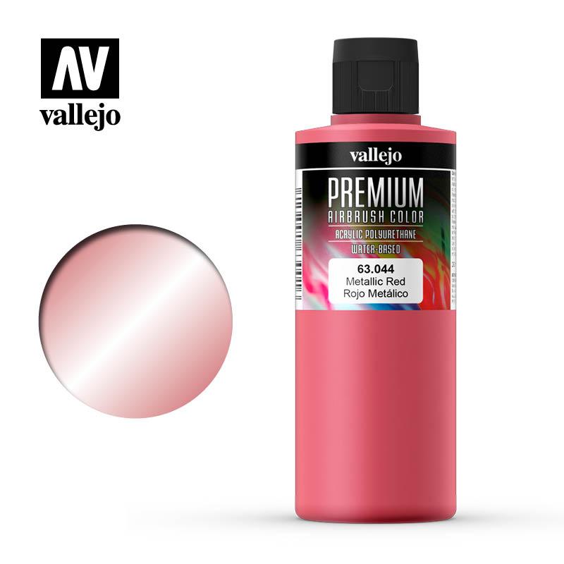 Metallic Red, Premium 200 ml