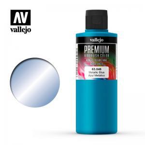 Metallic Blue, Premium 200 ml