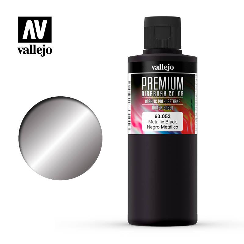 Metallic Black, Premium 200 ml