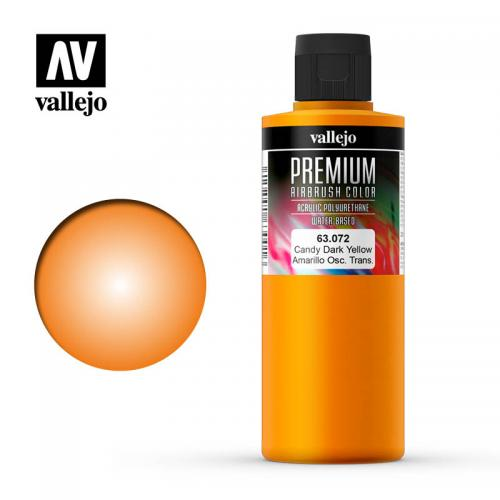 Candy Dark Yellow, Premium 200 ml