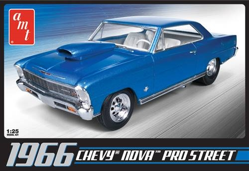 CHEVY NOVA PRO STREET 1966 1/25 (inkl.engine)