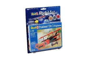 Model Set Fokker DR. 1 Triplane 1/72