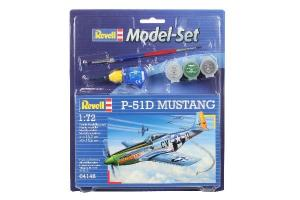 Model Set P-51D Mustang 1/72