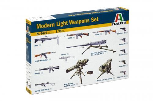 Modern Light Weapons Set 1/35