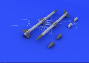 AIM-120A/ B AMRAAM (2pcs) 1/48