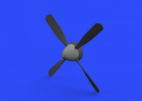 P-51D Hamilton Standard uncuffed propeller 1/48