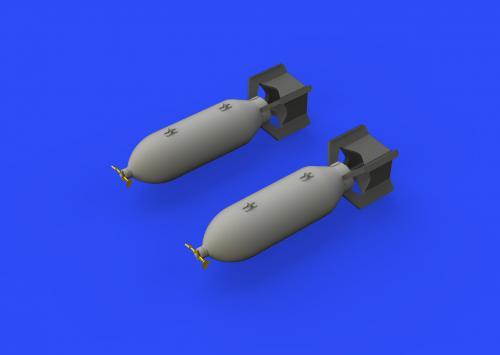 P-51D 250lb bombs 1/48