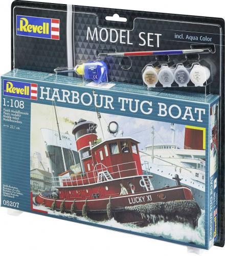 Presentset HARBOUR TUG BOAT 1/108