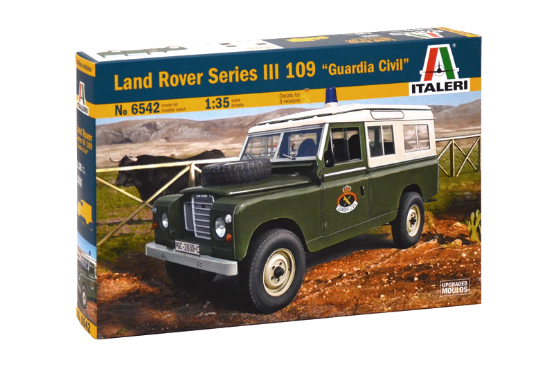 "LAND ROVER SERIES III 109 ""Guardia Civil"" 1/35"