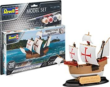 Model Set Santa Maria (Easy Click) 1/350