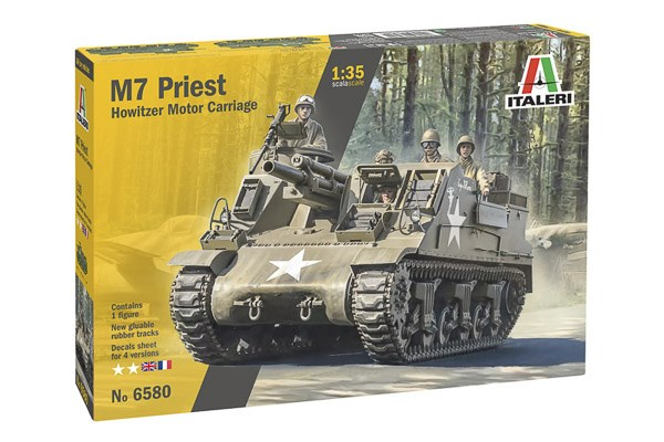 "M-7 ""Priest"" Self Propelled Howitzer 1/35"