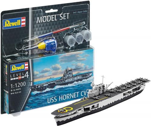 Presentset USS HORNET CV-8 1/1200