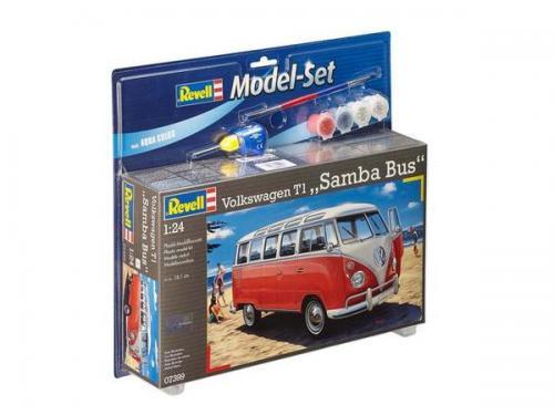Model Set VW T1 Samba Bus 1/24