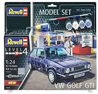 "MODEL SET VW GOLF GTI ""BUILDERS CHOICE 1/24"