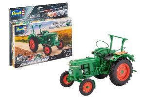 Model Set Deutz D30 Tractor 1/24
